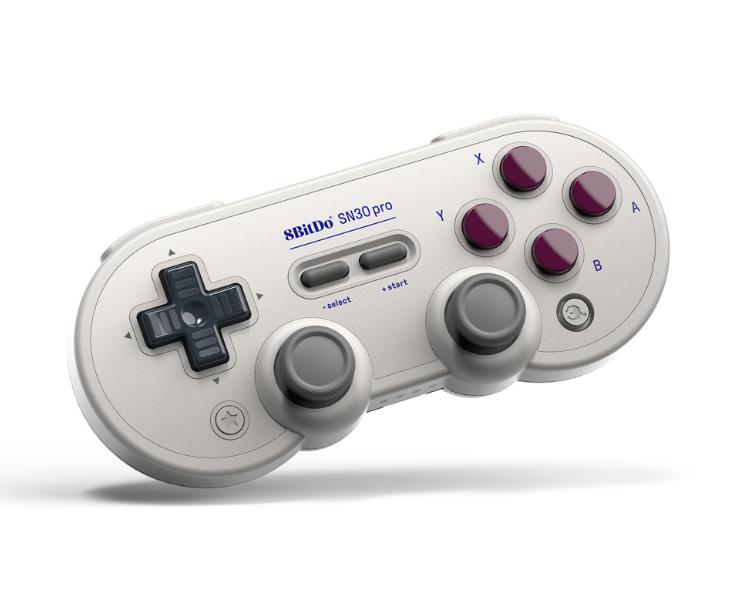 8bitdo八位堂SN30ProG經典版無線藍牙遊戲手柄Switch震動連發體感 10