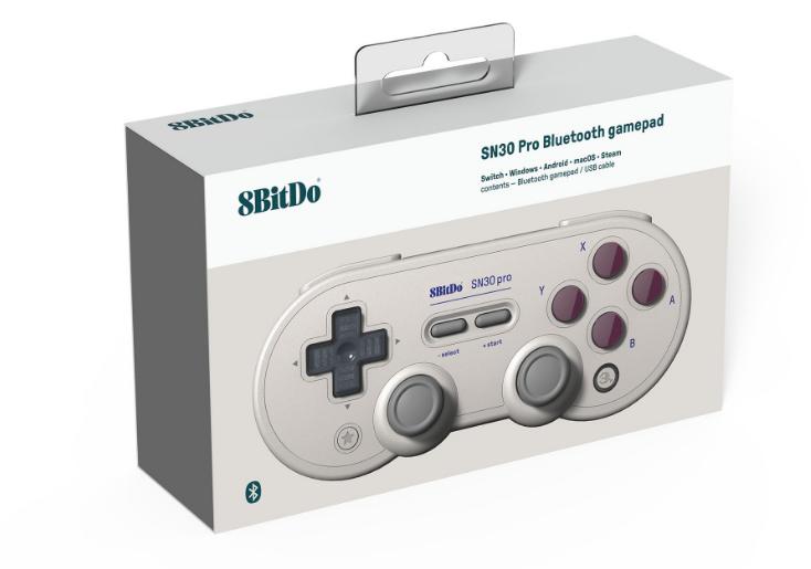 8bitdo八位堂SN30ProG经典版无线蓝牙游戏手柄Switch震动连发体感 11