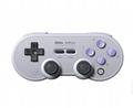 8bitdo八位堂SN30ProG經典版無線藍牙遊戲手柄Switch震動連發體感 17