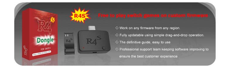 R4S Dongle R4s電子狗NS大氣層U盤SWITCH交換機 switch遊戲模擬器 10