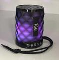 新款TG155蓝牙音箱无线低音通话户外便携插卡时尚礼品迷你音响 5