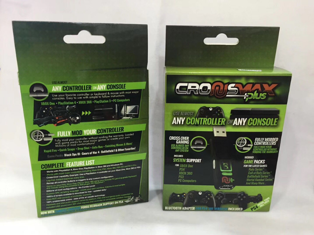 CronusMAX PlusPS4PS3 XboxOne360+USB轉換器藍牙4.0 13