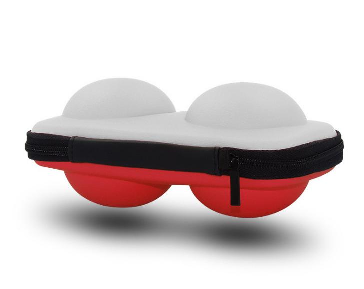 switch精靈球收納包 新款精靈寶可夢保護袋 NS精靈球2個裝保護套 10