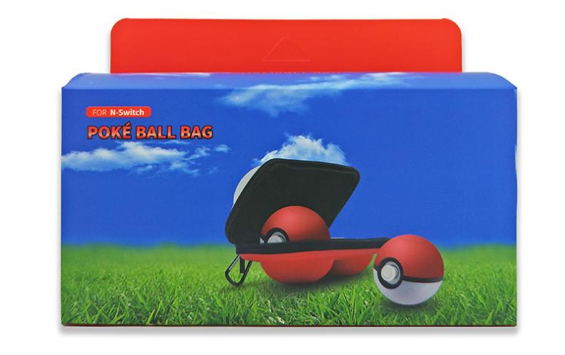 switch精灵球收纳包 新款精灵宝可梦保护袋 NS精灵球2个装保护套 12