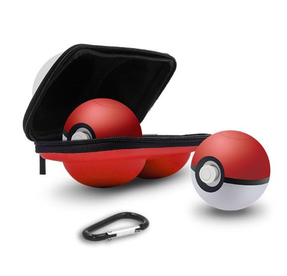 現貨switch精靈球保護墊三合一套裝 switch精靈球收納卡帶硅膠墊 4