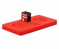 現貨switch精靈球保護墊三合一套裝 switch精靈球收納卡帶硅膠墊 3