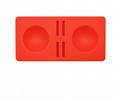 現貨switch精靈球保護墊三合一套裝 switch精靈球收納卡帶硅膠墊 8