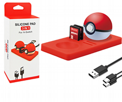 switch Elf ball protection pad three-in-one set Switch Elf ball storage card