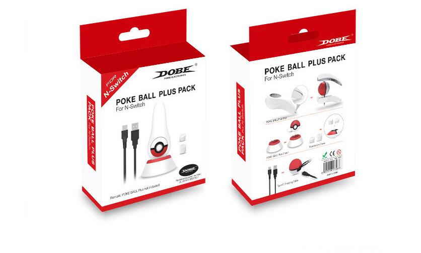 现货switch精灵球保护垫三合一套装 switch精灵球收纳卡带硅胶垫 15