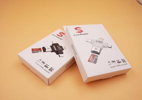 四合一多功能tf卡读卡type-c接口适用于苹果安卓手机otg读卡器 20