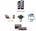 四合一多功能tf卡读卡type-c接口适用于苹果安卓手机otg读卡器 3