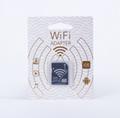 WIFI SD 卡套 TF轉wifi sd 相機數碼內存卡 可OEM支持128GB內存卡 3