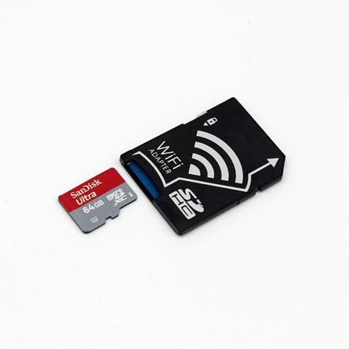 WIFI SD 卡套 TF轉wifi sd 相機數碼內存卡 可OEM支持128GB內存卡 1