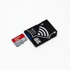 WIFI SD 卡套 TF转wifi sd 相机数码内存卡 可OEM支持128GB内存卡