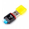 读卡器多功能 microSD读