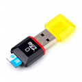 Card reader multi-function microSD card reader USB memory card 2.0
