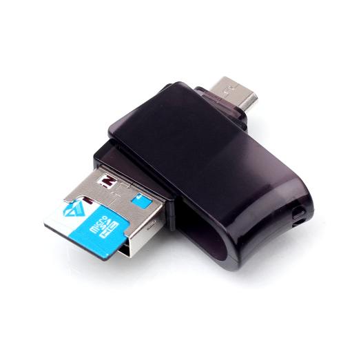 讀卡器多功能 microSD讀卡器 手機USB內存卡 保証2.0高速讀卡器 4