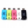 读卡器多功能 microSD读卡器 手机USB内存卡 保证2.0高速读卡器 6