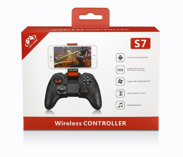 新款GENGAME創游S7無線藍牙遊戲手柄S7手機手游遊戲手柄 11