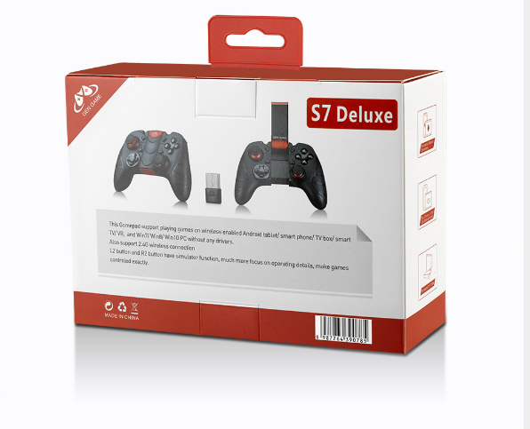 新款GENGAME創游S7無線藍牙遊戲手柄S7手機手游遊戲手柄 19