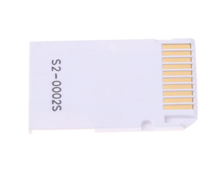 PSP记忆棒双卡卡套 双TFMicroSDHC卡转MS 双马甲 读卡器适配器 3