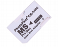 PSP记忆棒双卡卡套 双TFMicroSDHC卡转MS 双马甲 读卡器适配器 2