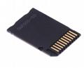 PSP记忆棒单卡套Micro SDTF卡转MS转接器 MS适配器读卡器Adapter 2