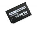 PSP記憶棒單卡套Micro SDTF卡轉MS轉接器 MS適配器讀卡器Adapter 4