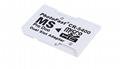 PSP記憶棒單卡套Micro SDTF卡轉MS轉接器 MS適配器讀卡器Adapter 5