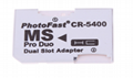 PSP記憶棒單卡套Micro SDTF卡轉MS轉接器 MS適配器讀卡器Adapter 6