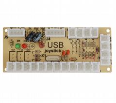 原廠直銷 PCUSBPS3投幣街機遊戲機雙人搖桿配件控制板