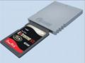 【厂家直销】WIINGC SD卡转接器wiisd读卡器 SD适配器卡槽 4