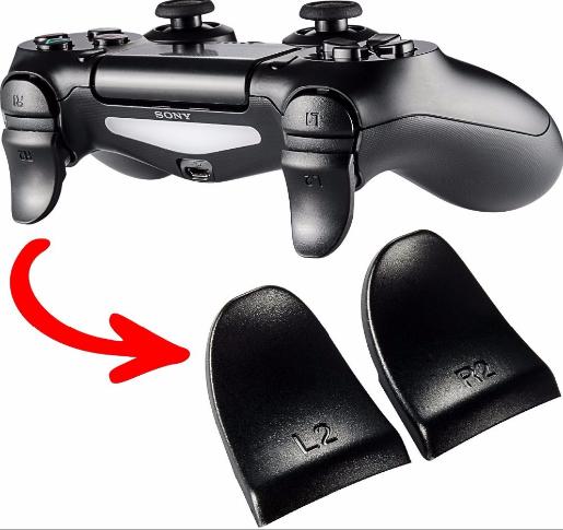 新款 PS4手柄L2 R2加長按鍵 PS4手柄按鍵 PS4延長按鍵 腳墊 12