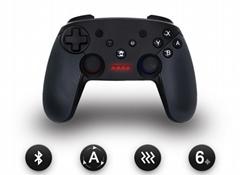 Switch無線手柄 NFC藍牙連接帶截屏振動六軸含陀螺儀加