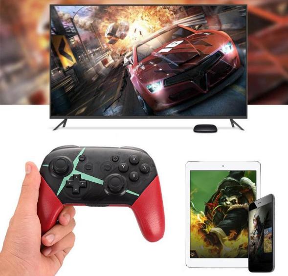 Switch无线手柄 NFC蓝牙连接带截屏振动六轴含陀螺仪加速器支持PC 5