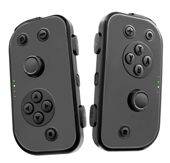 任天堂控制器switch joy-con遊戲小手柄 NS左右無線握把 中性 2
