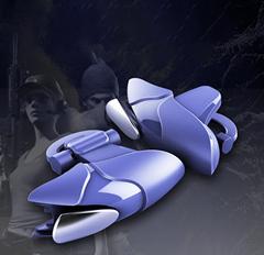 新款抖音吃鸡神器蓝鲨机械按键Shark游戏手柄物理辅助刺激战