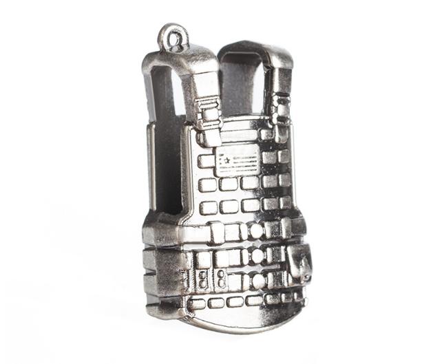 新款吃雞神器配件絕地求生快捷射擊按鍵遊戲手柄平底鍋禮品鑰匙扣 5