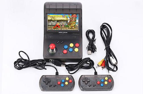 復古迷你街機retro arcade遊戲機gba搖桿街機懷舊遊戲機大屏mini 1