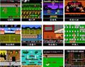 抖音NES迷你移動電源掌機充電寶掌上遊戲機FC8位黃卡魂斗羅紅白機  4