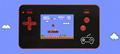 抖音NES迷你移動電源掌機充電寶掌上遊戲機FC8位黃卡魂斗羅紅白機  11