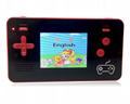抖音NES迷你移動電源掌機充電寶掌上遊戲機FC8位黃卡魂斗羅紅白機  2