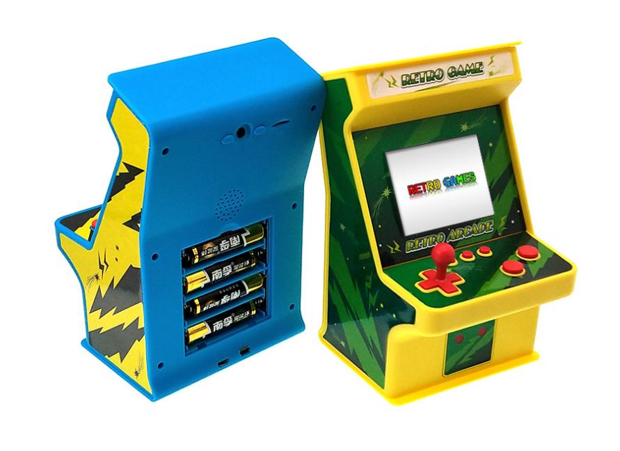 Classic retro mini arcade nostalgic children's game console built-in 256 1