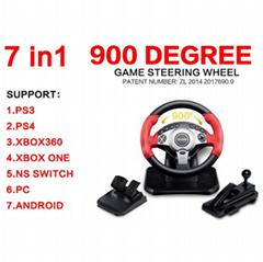 游戏机方向盘 PS4PS3PS2XBOX360ONE SWI