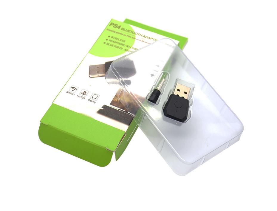PS4耳机接收器 PS4接收器 PS4蓝牙4.0 USB适配器 蓝牙接收器 4