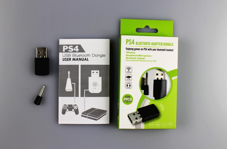 PS4耳機接收器 PS4接收器 PS4藍牙4.0 USB適配器 藍牙接收器 1