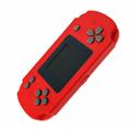 Leather pattern retro game mini handheld