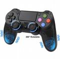 爆款PS4無線藍牙手柄雙震動方案穩定PS4遊戲手柄帶軸觸屏 7