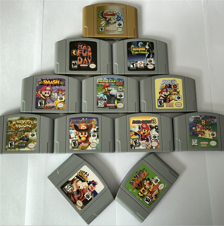 N64 game card full range of stock Nintendo game production factory direct supply