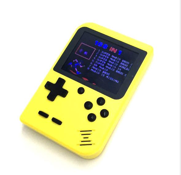 厂家新款迷你游戏机NES怀旧游戏机GBA大屏掌上PSP掌机168款游戏 6